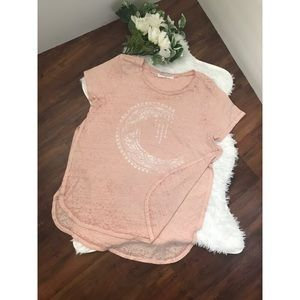 Urban outfitters Project Social T in pink/white